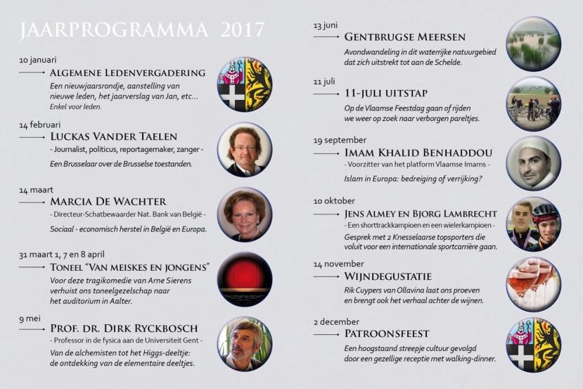 Jaarprogramma 2017 omzijde