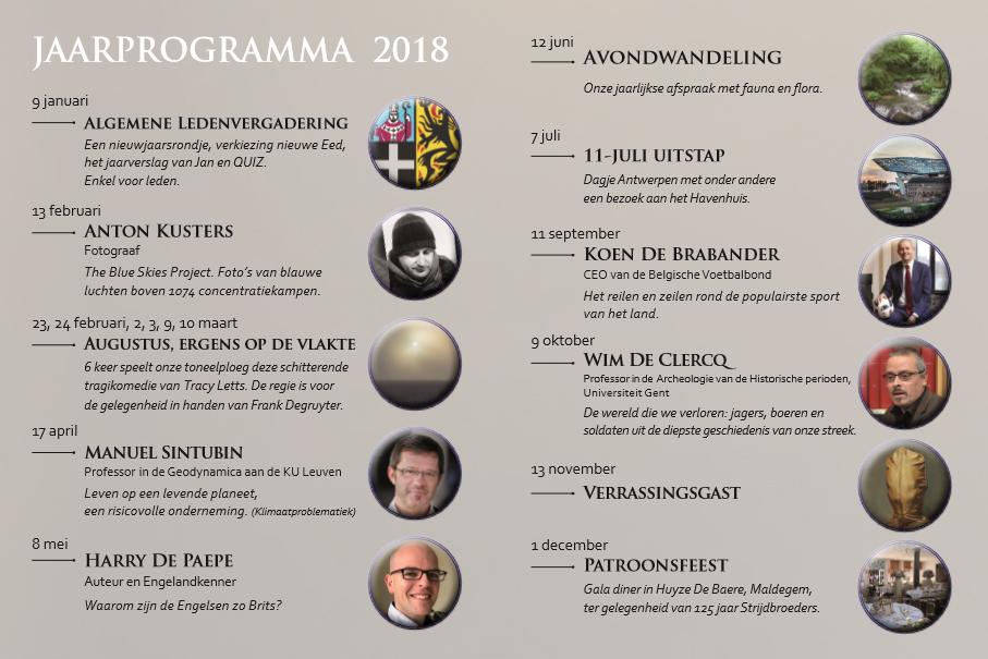 jaarprogramma2018